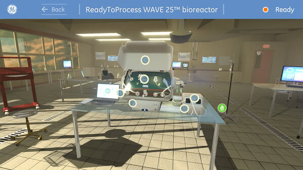 GE Healthcare Kinect project